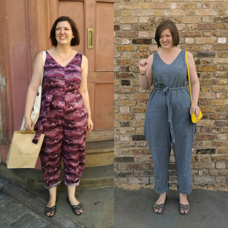 fabc36a4a1b A Pair of (almost) Perfect Peppermint Jumpsuits – Helen Sews Slow